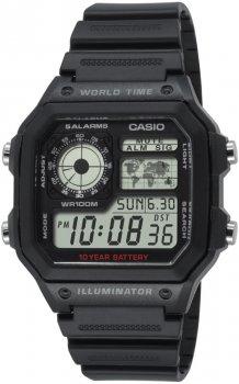 Чоловічі годинники Casio AE-1200WH-1AVEF