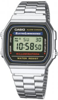 Чоловічі годинники Casio A168WA-1YES