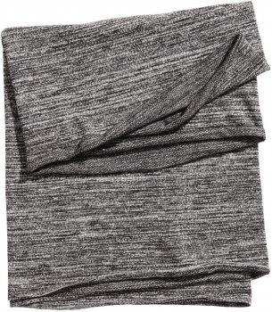 Шарф-снуд H&M 5484514RP12 150х70 см Серо-черный меланж (PS2030000037544)