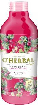 Гель для душа O'Herbal Vegan Нежность амаранта Малина 400 мл (5901845504904)
