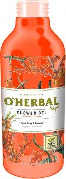 Гель для душа O'Herbal Vegan Солнечное сияние Облепиха 400 мл (5901845504850)
