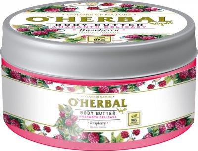 Масло для тела O'Herbal Vegan Нежность амаранта Малина 200 мл (5901845504928)