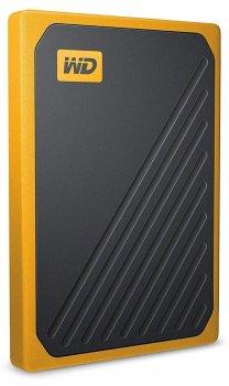 Портативный SSD USB 3.0 WD Passport Go 1TB Yellow (JN63WDBMCG0010BYT-WESN)