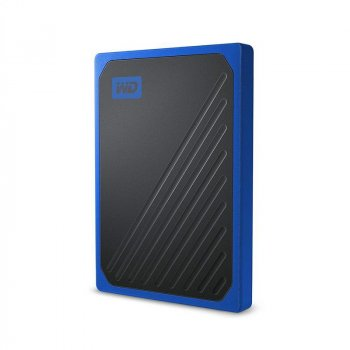 Портативный SSD USB 3.0 WD Passport Go 1TB Blue (JN63WDBMCG0010BBT-WESN)