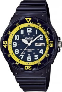 Чоловічі годинники Casio MRW-200HC-2BVEF