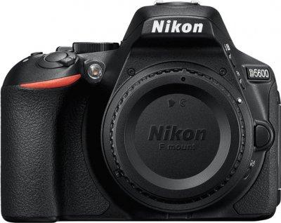 Nikon D5600 Kit 18-55 mm + 70-300 mm Black