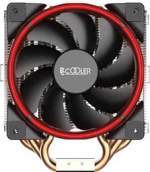 Кулер PcCooler GI-H58U Corona Red