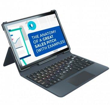 "Планшет Blackview TAB 8 10.1"" 4/64Gb 4G (6580мАч) + Чехол-Клавиатура Black-Grey"