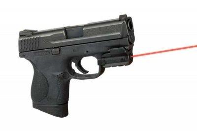 Лазерний целеуказатель LaserMax Spartan на планку Пикатинни (червоний, 650 нМ, CR1/3N, двостороннє управління)