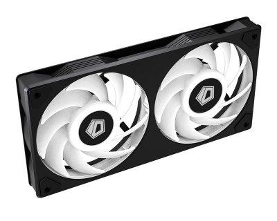 Вентилятор ID-Cooling Icefan 240 ARGB, 245х125х27мм, 3-pin, 4-pin PWM, чорний
