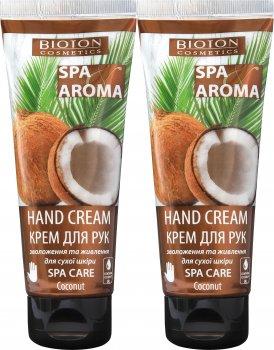 Набор Bioton Cosmetics Крем для рук с кокосовым маслом SPA - уход 75 мл х 2 шт (4820026154091)