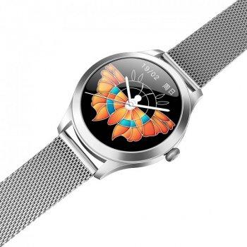Жіночі розумні годинник KingWear KW10 Pro Silver