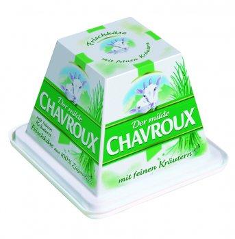 Свіжий сир Chavroux з козиного молока з цибулею 150 г
