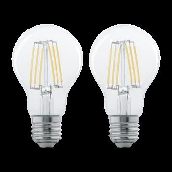 Світлодіодна лампа Eglo 11509 E27 LED A60 (2 шт в наборі) 6W 2700K