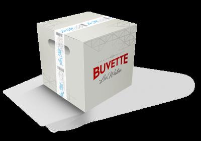 Упаковка минеральной воды Buvette Vital Люкс негазированной 0.75 л х 12 бутылок (4820115402058)