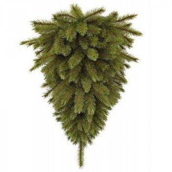 """Искусственная сосна Triumph Tree """"перевернутая"""" Forest frosted зеленая, 0,9 м (8718861155433)"""