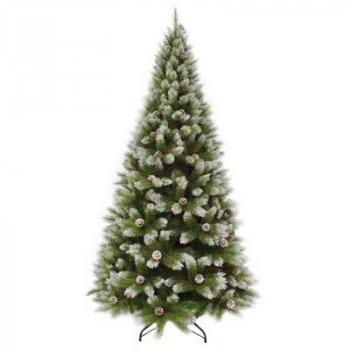 Искусственная сосна Triumph Tree зеленая с эффектом иния, 2,30 м (8718861280364)