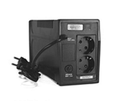 ДБЖ Ritar RTP800 Proxima-L 480 W, Lin.int., AVR, 2xSchuko, пластик (RTP800L/05846)