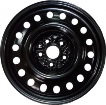Kapitan Nissan / Renault R17 W6.5 PCD5x114.3 ET40 DIA66.1 Black semi-Matt