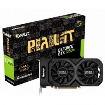 Відеокарта PALIT GeForce GTX1050 Ti 4096Mb DUAL OC (NE5105TS18G1-1071D)