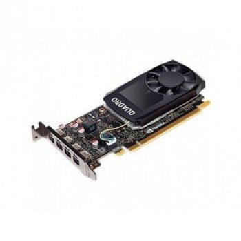 Відеокарта QUADRO P1000 4096MB PNY (VCQP1000-PB)