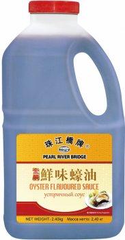 Соус Pearl River Bridge Устричный 2.4 кг (6947593017210)