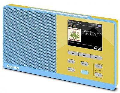 Радиоприемник TECHNISAT Digitradio Kira 1 blue-yelow