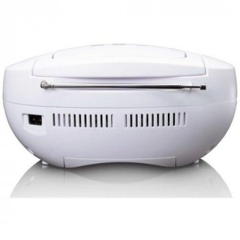 Радиомагнитола LENCO SCD-301 white-gray
