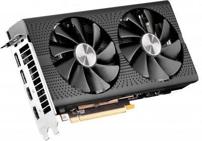 Sapphire PCI-Ex Radeon RX 570 Pulse OC 4GB GDDR5 (256bit) (1284/7000) (2 x HDMI, 2 x DisplayPort) (11266-67-20G)