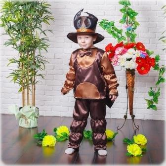 Карнавальный костюм I.V.A.moda Жук 30 коричневый iva-467