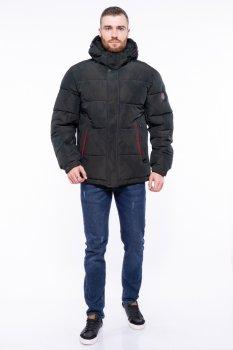 Куртка однотонна Time of Style 191P98854 Темно-зелений