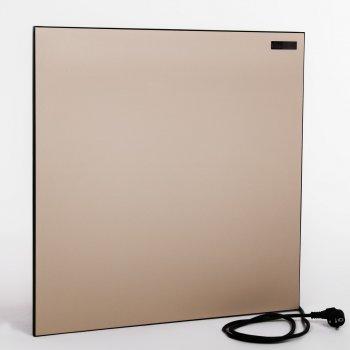 Обігрівач конвектор КАМ-ІН Eco Heat 350Т бежевий - керамічна панель з електронним терморегулятором