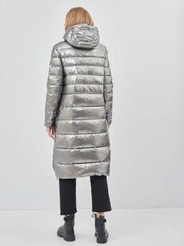Куртка CMP Woman Coat Snaps Hood 30K3516-U811 Acciaio