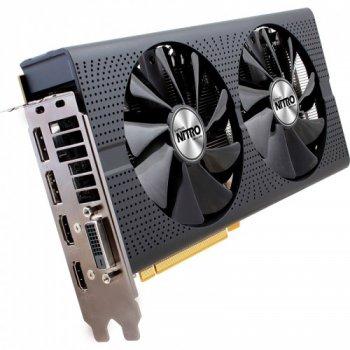 Sapphire Pci-Ex Radeon Rx 480 Nitro+ Oc 8Gb Gddr5 (256Bit) (1208/8000) (Dvi, 2 X Hdmi, 2 X Displayport) (11260-01-20G) (Rx480)