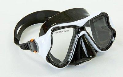 Набор для плавания маска с трубкой Zelart M266-SN138-SIL белый