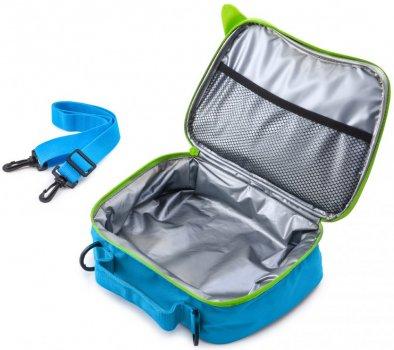 Сумка-рюкзак для сендвічів Trunki 3.5 л Блакитна із салатовими вставками (0288-GB01)