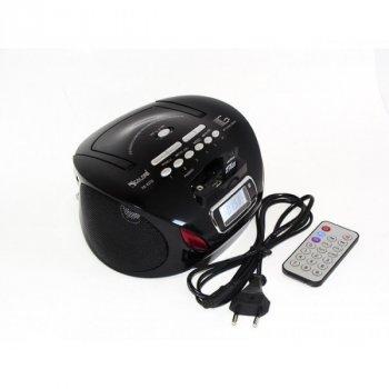 Радиоприемник Магнитофон Бумбокс Колонка с пультом ДУ Golon RX 627Q Black