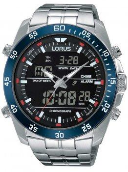 Години Lorus RW623AX9 Analog-Digital Alarm Chronograph 46mm 10ATM