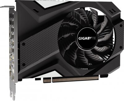 Gigabyte PCI-Ex GeForce GTX 1650 Mini ITX OC 4GB GDDR5 (128bit) (1680/8002) (2 x HDMI, DisplayPort) (GV-N1650IXOC-4GD)
