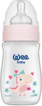 Бутылочка для кормления Wee baby Classic Plus от 0 до 6 месяцев 250 мл Розовая (136-pink)