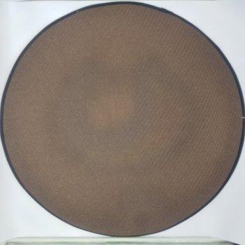 Килимок 3D круглий безворсовий з 3д принтом килимок для будинку 80 см Смайл (936486459003)