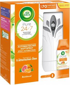 Автоматический освежитель Air Wick Freshmatic Pure Апельсин и Грейпфрут 250 мл (4002448116066)