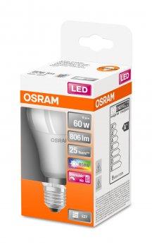 Світлодіодна лампа Osram LED Star+ DIM A60 9W (806Lm) Е27 (4058075430754)