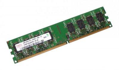 Модуль пам'яті DDR2 2GB/800 Hynix HYMP125U64CP8-S6/HYMP125U64CP8
