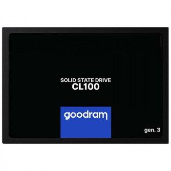 "Накопичувач SSD 120GB Goodram CL100 GEN.2 2.5"" SATAIII TLC SSDPR-CL100-120-G3"