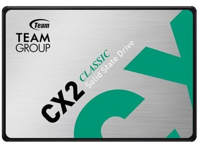 "Накопичувач SSD 512GB Team CX2 2.5"" SATAIII 3D SLC T253X6512G0C101"