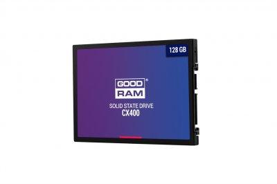 "Накопичувач SSD 128GB Goodram CX400 2.5"" SATAIII 3D TLC SSDPR-CX400-128"
