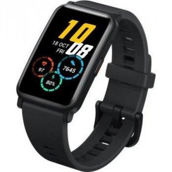 Смарт-часы Smart Honor ES с измерением уровня кислорода в крови + пульсометр и спортивные режимы Черный