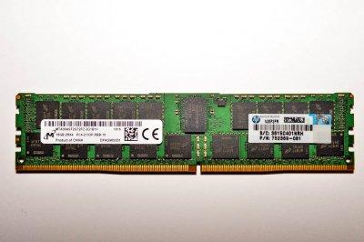 Оперативная память HP 16GB (1x16GB) DDR4-2133 Memory Kit (752369-081) Refurbished