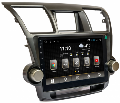 Штатна магнітола Phantom DVA-1071 K5006 Toyota Highlander 2009-2014